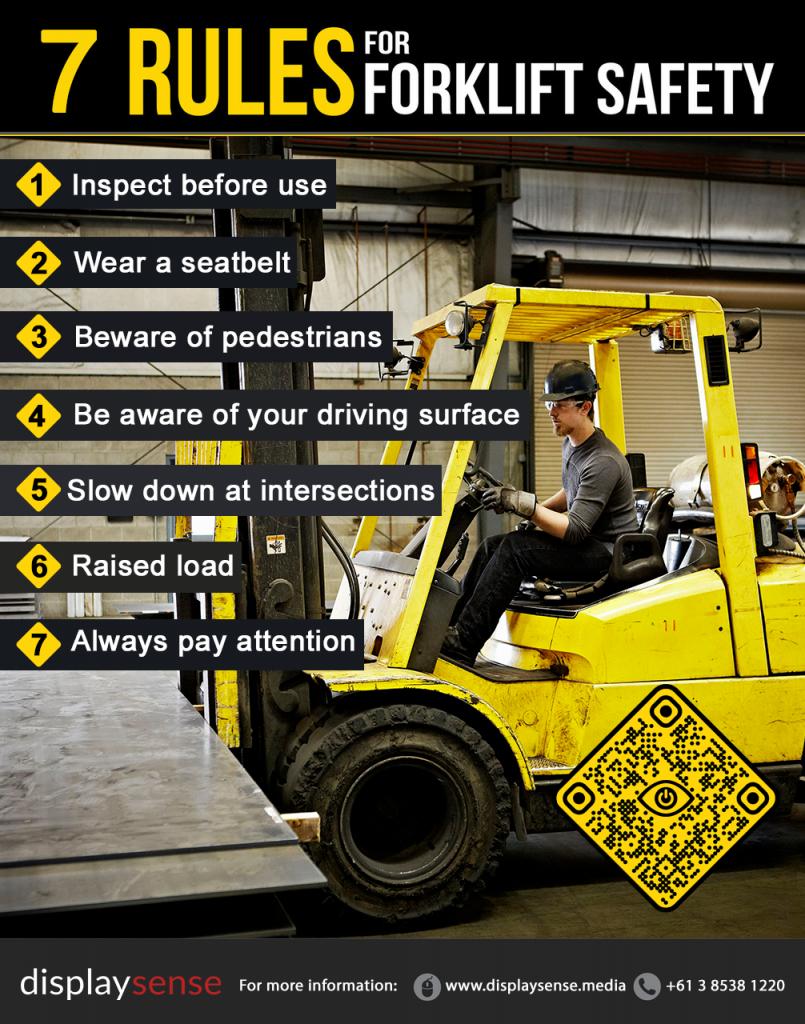 Forklift Safety Marker